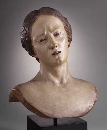 Bust of a Female Saint
