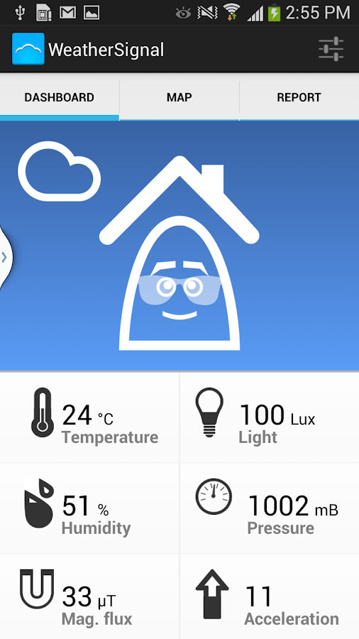 Personal Weather Station - screenshot