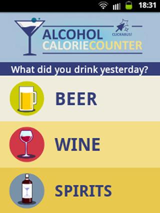 Alcohol Calorie Counter