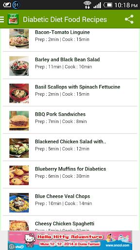 Diabetic Diet Food Recipes
