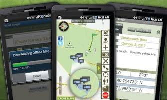 Screenshot of GA Fish & Wildlife Guide