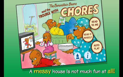 【免費書籍App】BB - Trouble with Chores-APP點子