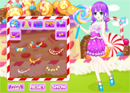 女孩棒棒糖女孩的遊戲
