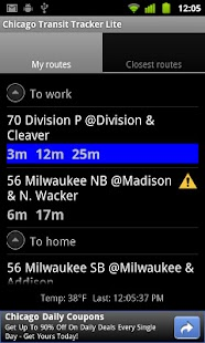 Chicago Transit Tracker Lite - screenshot thumbnail