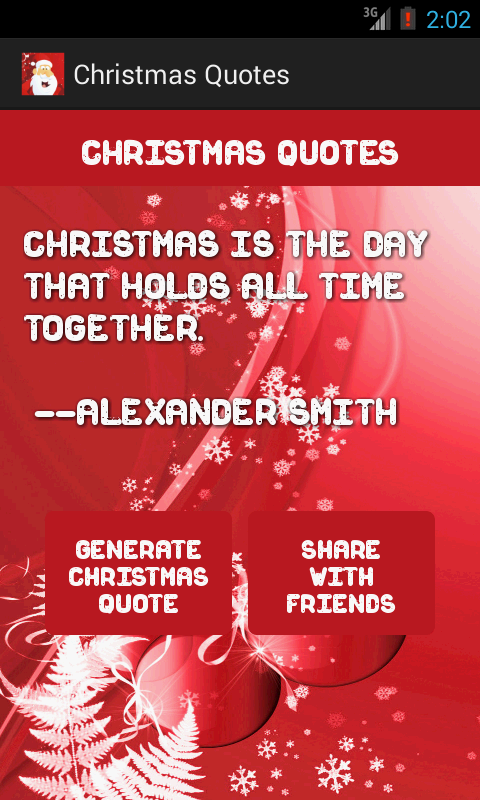 Christmas Quotes- screenshot