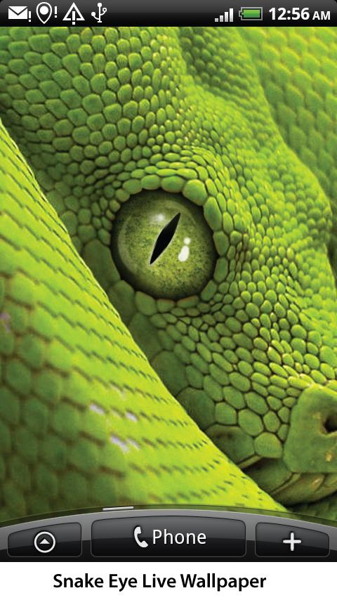 Snake Eye Live Wallpaper- screenshot