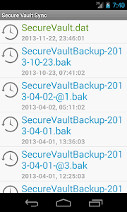 Secure Vault Sync screenshot 2