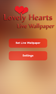 Lovely Hearts Live Wallpaper- screenshot thumbnail