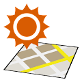 App Sunrise Sunset on the Map APK for Kindle