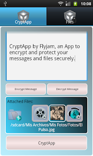 Secret Messages CryptApp- screenshot thumbnail