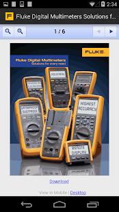 Fluke Virtual Sales Assistant- screenshot thumbnail