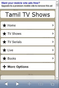 Tamil TV Shows Serials Live TV - screenshot thumbnail
