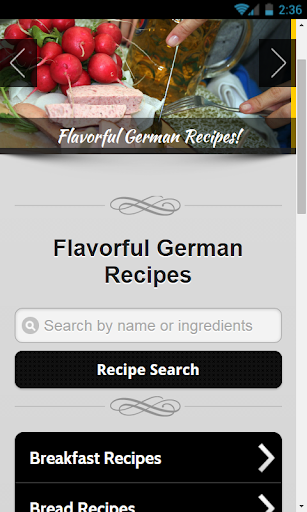 German Recipes - Premium