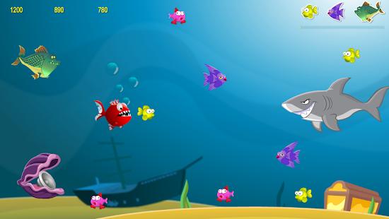 憤怒的飢餓的魚2