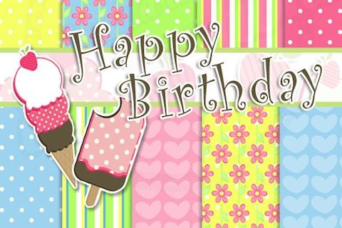 Birthday Card - screenshot