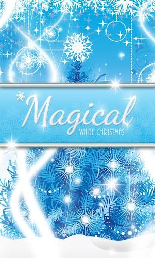 Magical White Christmas GO SMS