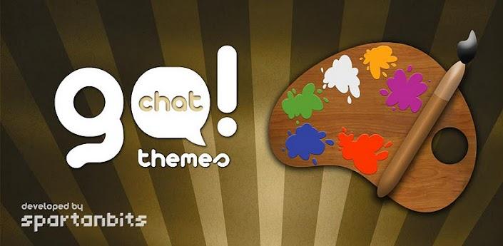 برنامج الرسام للجالكسي Go!Chat Themes