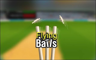 Screenshot of flying bails