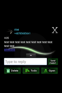 GO SMS PRO Theme - Simple - screenshot thumbnail
