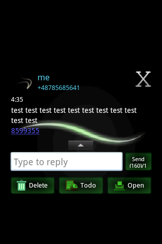 GO SMS PRO Theme - Simple - screenshot