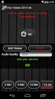 Screenshot of EVP GHOST VOICES AD VERSION