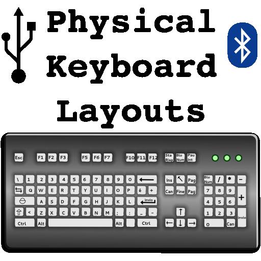 RS - Hardware Keyboard Layouts 程式庫與試用程式 App LOGO-APP試玩