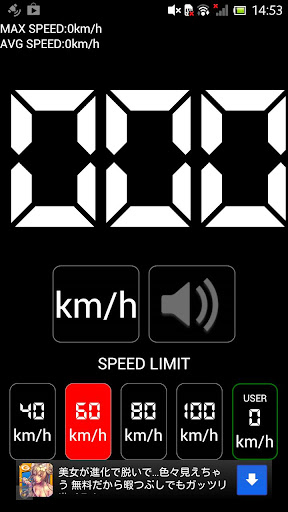 SPEED LIMIT METER