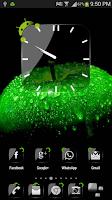 Screenshot of Theme Crystal Black Flat HD