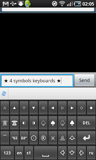 Symbols Keyboard TextArt Pro 2.7.1