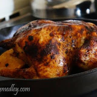 Peruvian Style Roasted Chicken.