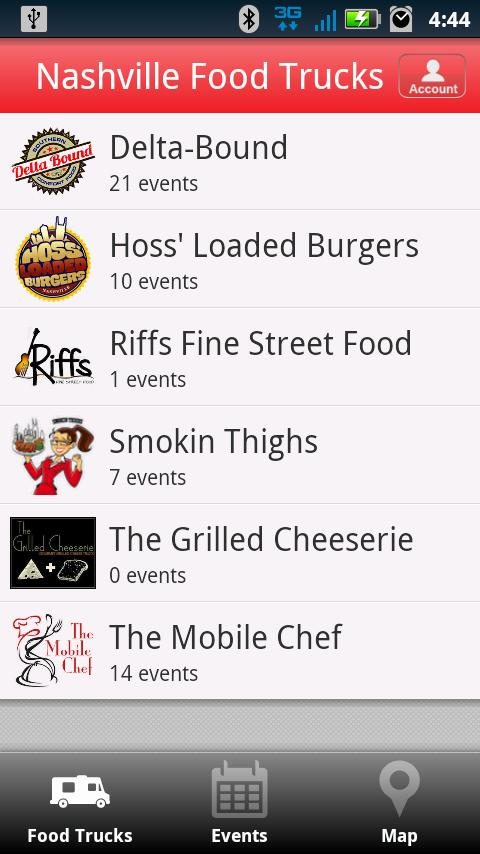 Nashville Food Trucks - screenshot