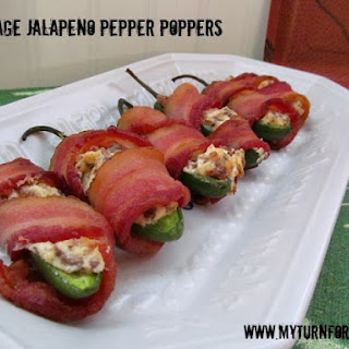 Sausage Jalapeño Pepper Poppers.