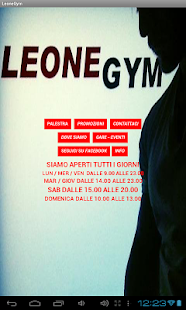 LeoneGym- miniatura screenshot