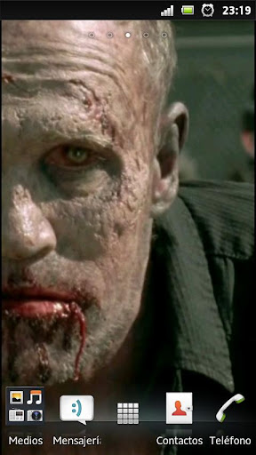 The walking dead zombie Merle