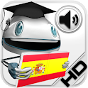 Spanish Verbs HD LearnBots icon