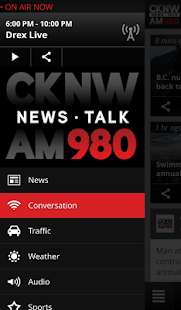 CKNW - News Talk 980 Vancouver- screenshot thumbnail