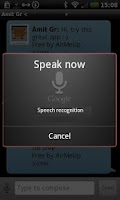 Screenshot of AirMeUp - Free SMS