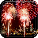 New year 2014 Live Wallpaper icon
