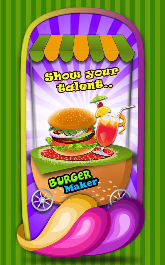 Burger Maker - Cooking Game - screenshot
