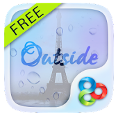 Outside GO Launcher Live Theme