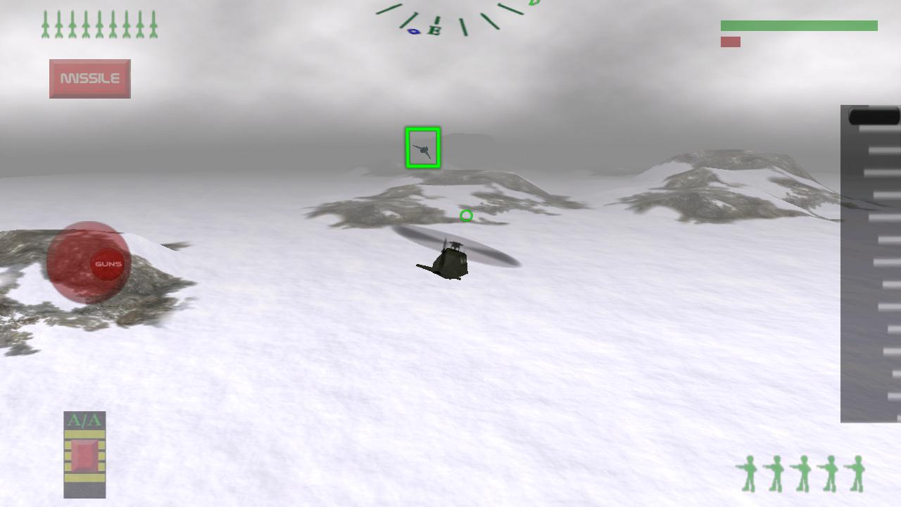 Stealth Chopper 3D- screenshot