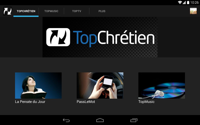 TopChrétien - screenshot