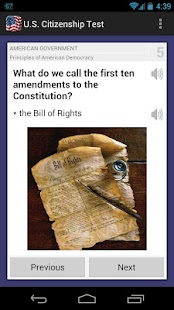 U.S. Citizenship Test 2015- screenshot thumbnail