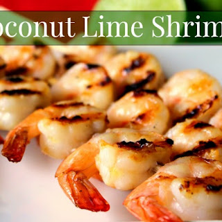 Coconut Lime Shrimp.
