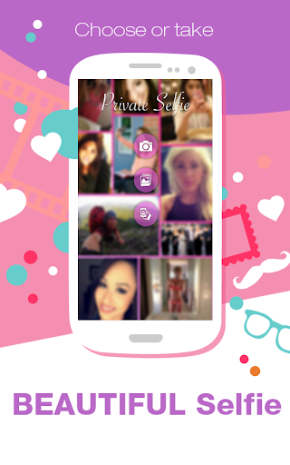 Private Selfie: Secret Sharing