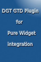 Screenshot of DGT GTD Pure Widget plugin