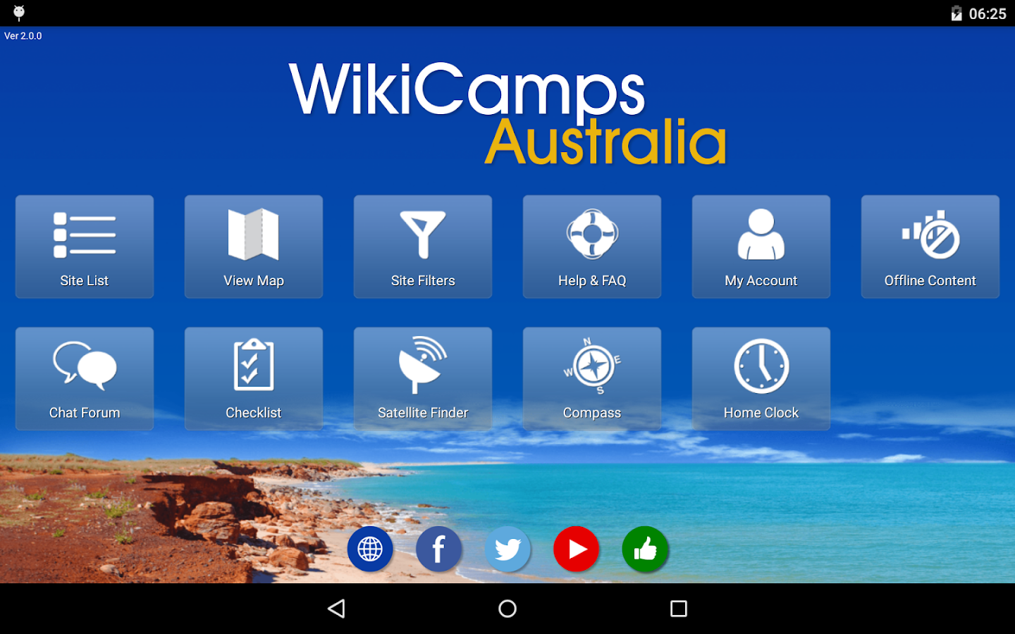 WikiCamps Australia - screenshot