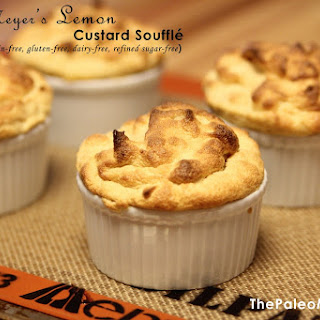 Meyer'S Lemon Custard Soufflé (Nut-Free) Recipe