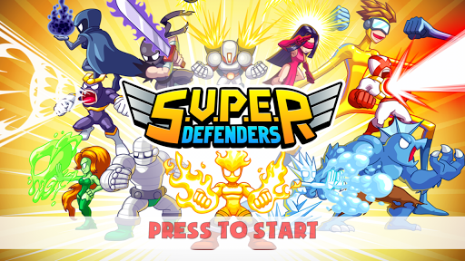 S.U.P.E.R - Super Defenders 1.5 screenshots 1