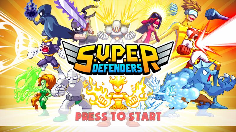 S.U.P.E.R – Super Defenders v1.5 [Mod]